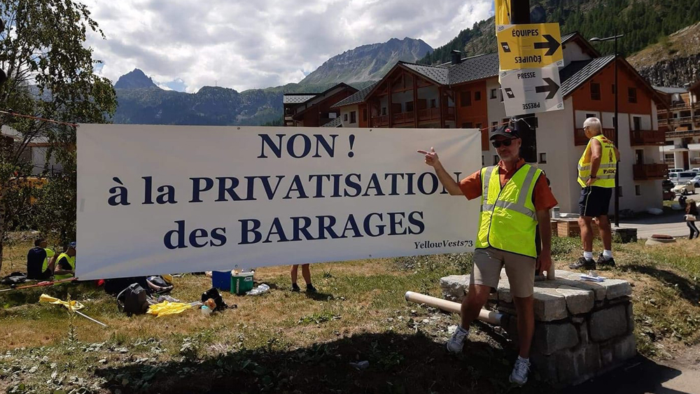 Privatisation des barrages